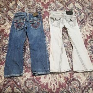 True Religion Kids Jeans Lot Bundle